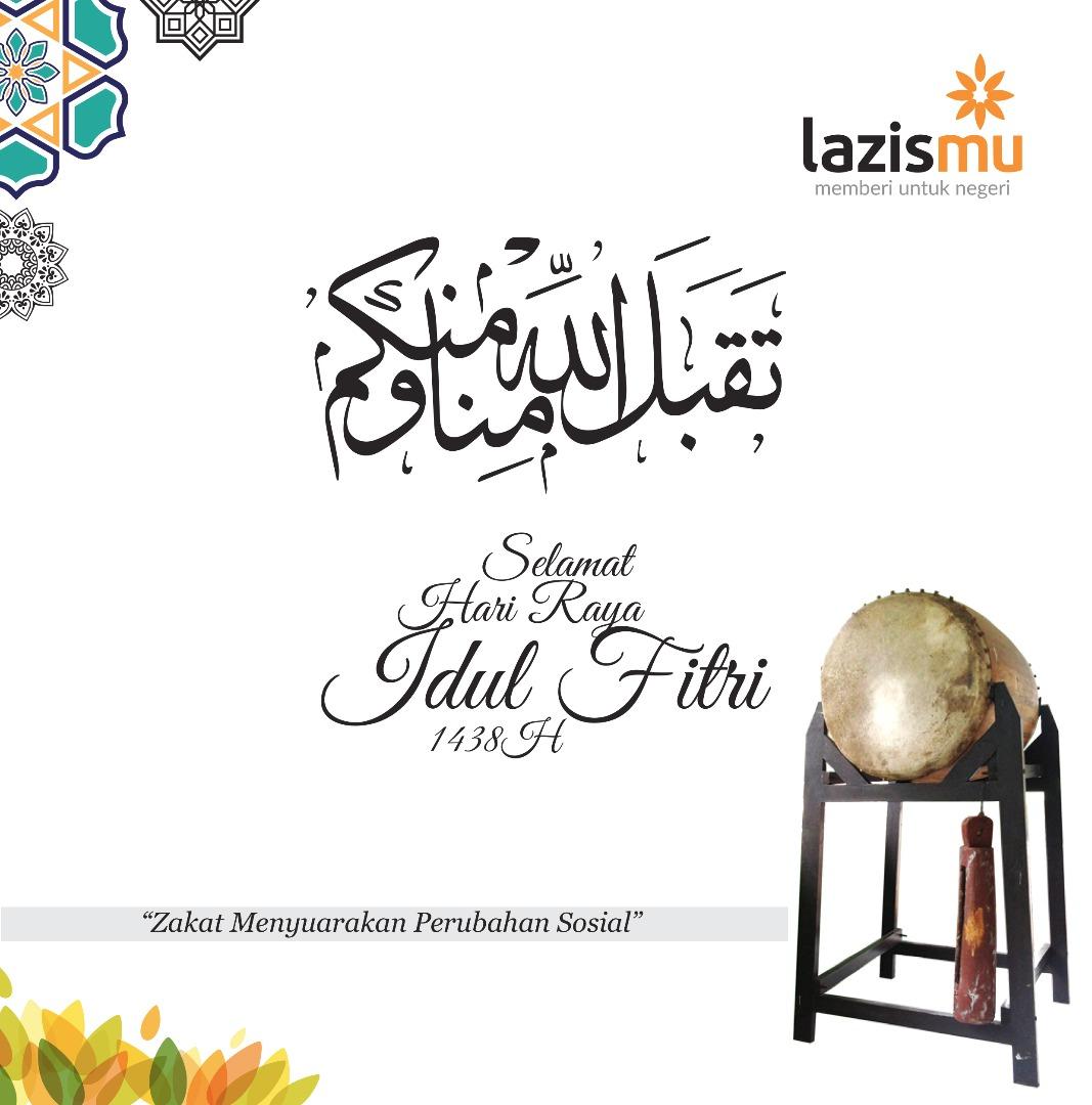Selamat Hari Raya 'Idul Fitri, 1 Syawwal 1438 Hijriyah