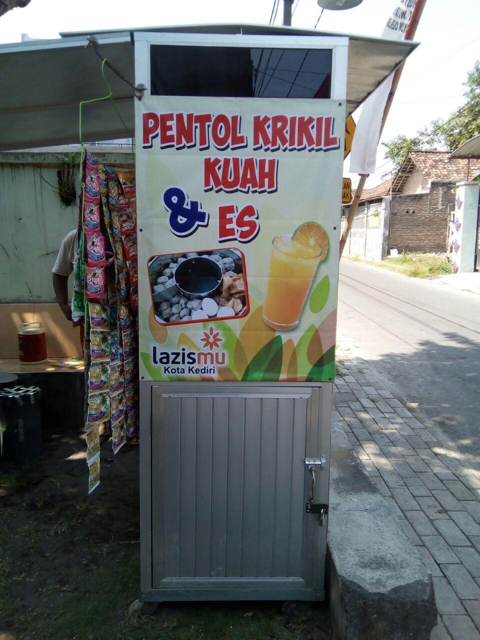 Contoh Banner Jualan Pentol - desain banner kekinian